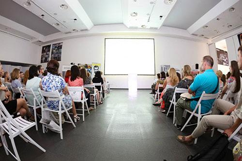 Пост-релиз с Виктором Зотовым, Киев, 17 июля 2014г. в рамках проекта АРХ-caffe'